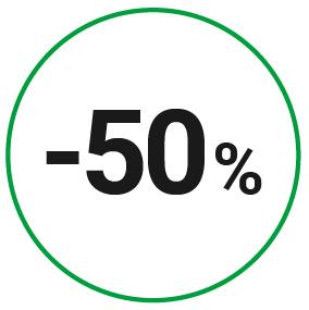 Économisez 50 % sur vos lunettes