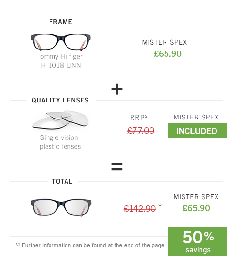 Glasses at an all-inclusive price