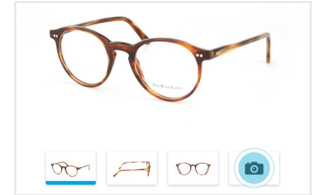 Online try-on - Mister Spex