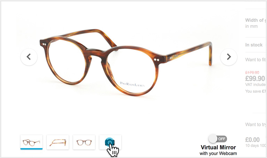 3198fcbcab0 Online try-on - Mister Spex