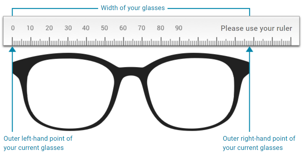 Size of glasses