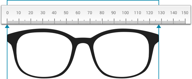 30a294a8d47283 Comment déterminer la bonne largeur de lunettes   Mister Spex