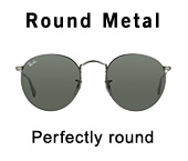 Ray-Ban Round Metal at Mister Spex