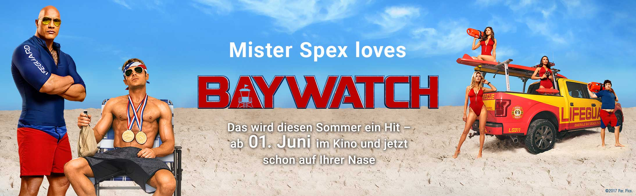 Mister Spex loves Baywatch