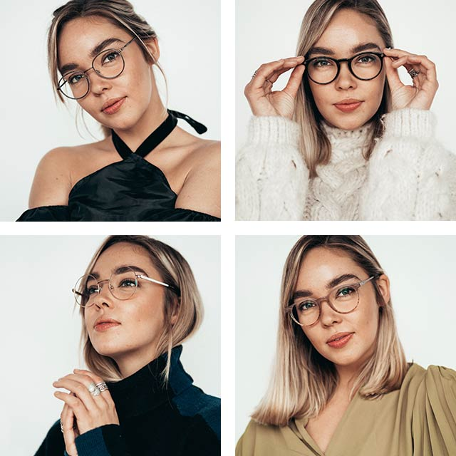 Galen i glasögon - Jessi