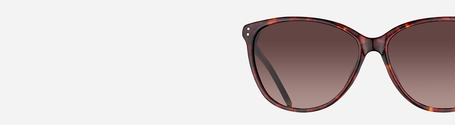Sonnenbrille Frau Ausfahrt exs7964 Schmetterling gespiegelt Metall