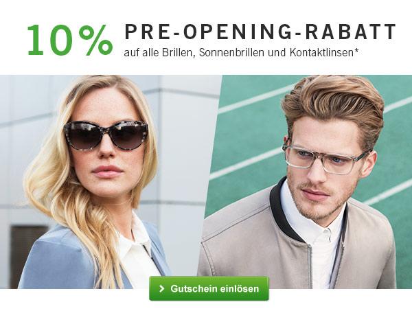 Mister Spex промокод. Скидка 10% на Brillen, Sonnenbrillen und Kontaktlinsen