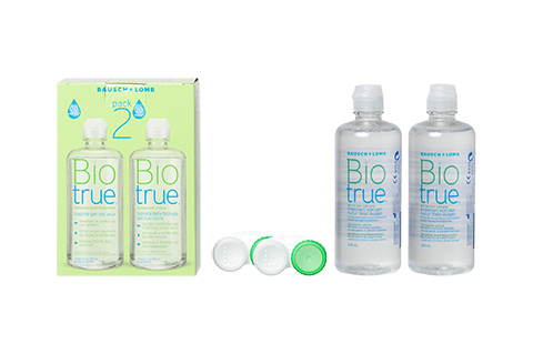 Biotrue pack doble vista frontal