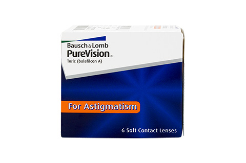 Purevision PureVision Toric (Day & Night) front view