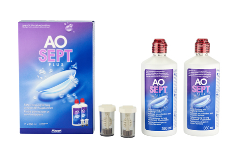 Aosept Plus Set double vue de face