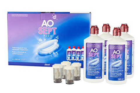 Aosept Plus Pack Familiar vista frontal