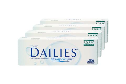 Dailies Focus DAILIES Toric 4