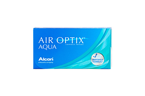 Air Optix AIR OPTIX Aqua frontvisning