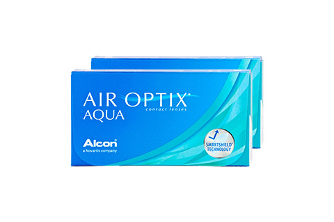 Air Optix Air Optix Aqua vista frontal