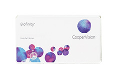 Biofinity Biofinity 1x6 Monatslinsen, Cooper Vision