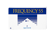 Frequency Frequency 55 klein