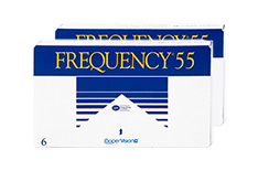 Frequency 55 2x6 Monatslinsen, Cooper Vision