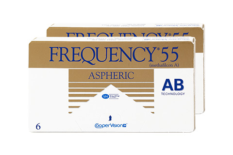 Frequency Frequency 55 Aspheric front view