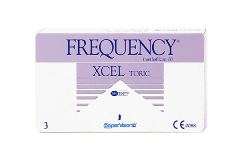 Frequency Frequency XCEL Toric frontvisning