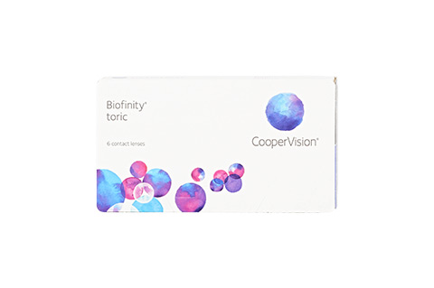 Biofinity Toric 6 lenses per box mini thumbnail