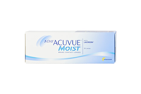Acuvue 1-DAY ACUVUE MOIST vista frontal