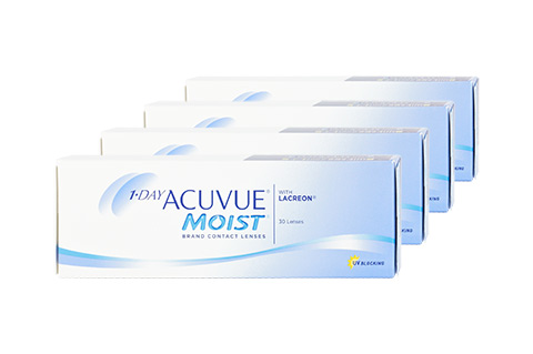 Acuvue 1DAY ACUVUE MOIST 0.75