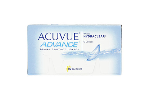 Acuvue ACUVUE ADVANCE with HYDRACLEAR front view