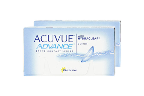 Image of Acuvue ACUVUE ADVANCE with HYDRACLEAR 6.5