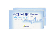 ACUVUE ADVANCE with HYDRACLEAR 2x6 Wochenlinsen, Johnson & Johnson