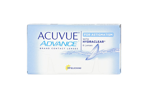 Acuvue ACUVUE ADVANCE for ASTIGMATISM front view