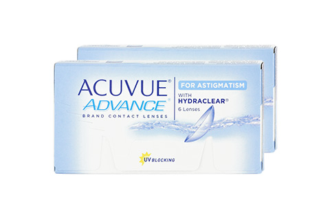 Acuvue ACUVUE ADVANCE for ASTIGMATISM Frontansicht