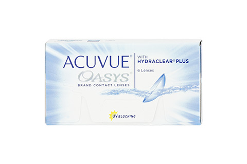 Acuvue ACUVUE OASYS with HYDRACLEAR Plus frontvisning