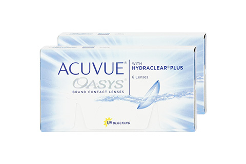Acuvue ACUVUE OASYS with HYDRACLEAR Plus etunäkymä
