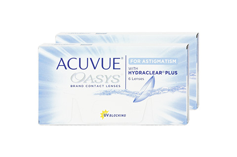 Acuvue Acuvue Oasys for Astigmatism front view