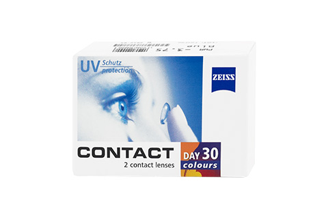 Contact Contact Day 30 Colours vista frontal