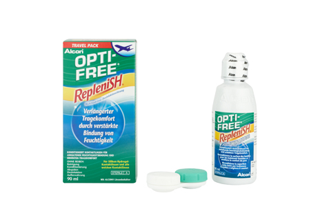 Opti Free RepleniSH Flightpack front view