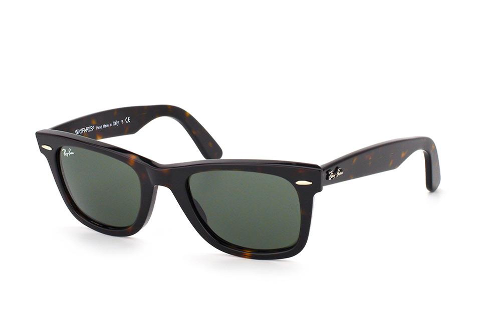 ray-ban -  Wayfarer RB 2140 902, Quadratische Sonnenbrille, Unisex, in Sehstärke erhältlich