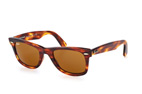 Ray-Ban Wayfarer RB 2140 Ice Pop 6057X3 Marron / Brun vue en perpective Thumbnail