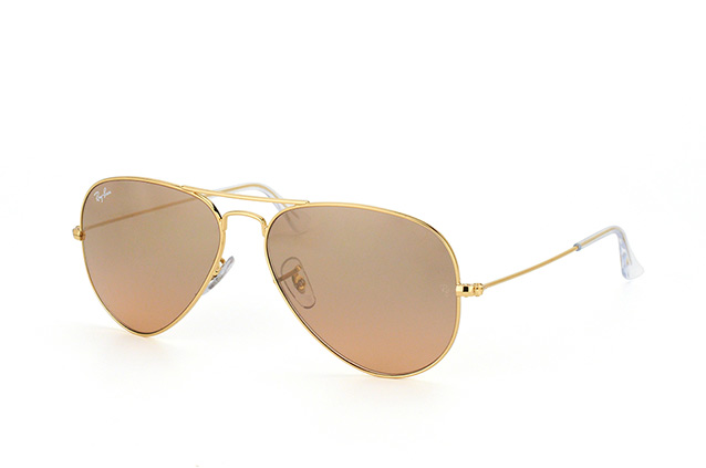 Ray-Ban Aviator large RB 3025 001/3E perspective view
