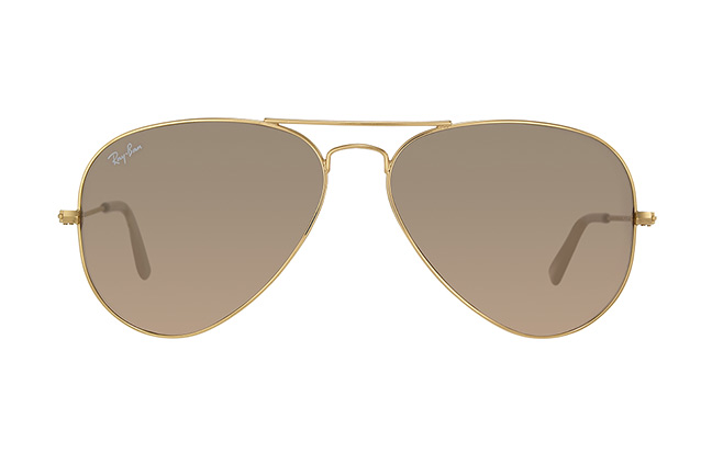 Ray-Ban Aviator large RB 3025 001/3E vista en perspectiva