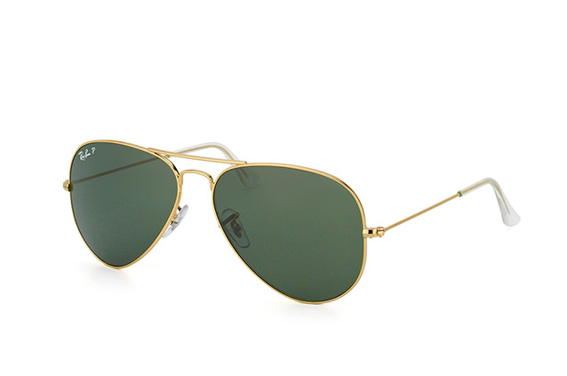 Ray-Ban Aviator large RB 3025 001/58 vista en perspectiva
