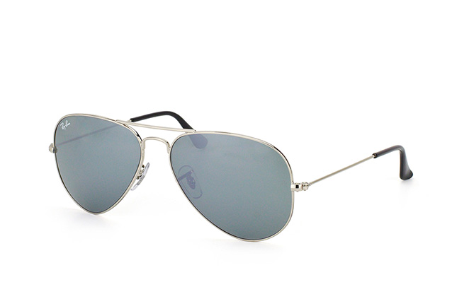 Ray-Ban Aviator large RB 3025 W3277 vue en perpective ... 8a507640fb63