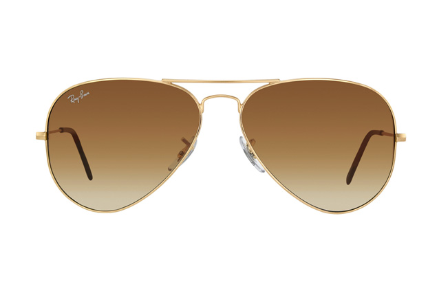 Ray-Ban Aviator large RB 3025 001/51 vista en perspectiva