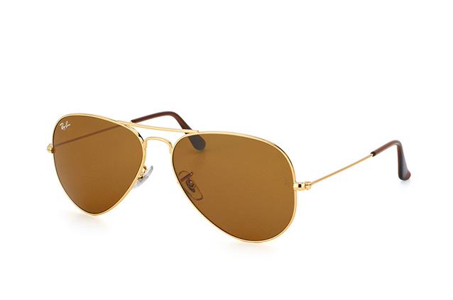 Ray-Ban Aviator large RB 3025 001/33 perspective view