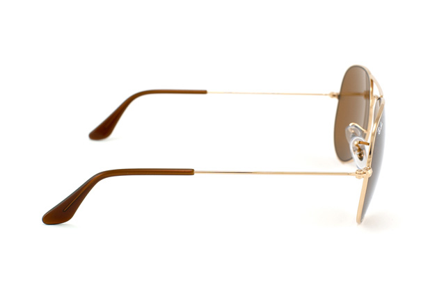 Ray-Ban Aviator RB 3025 001/33 vista en perspectiva