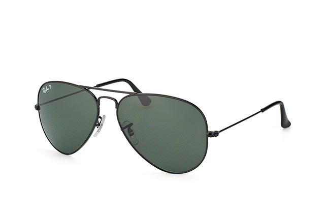 Ray-Ban Aviator large RB 3025 002/58 vue en perpective