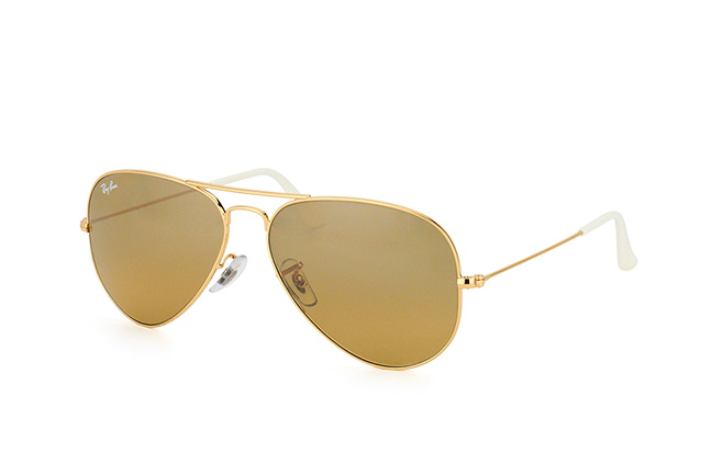 Ray-Ban Aviator large RB 3025 001/3K vista en perspectiva