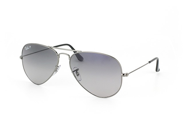 Ray-Ban Aviator large RB 3025 004/78 vue en perpective