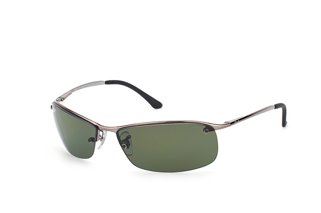 Beau Ray Ban Top Bar RB 3183 004/9A Perspective ...