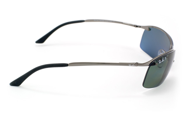 ... Ray Ban Top Bar RB 3183 004/9A Perspective ...